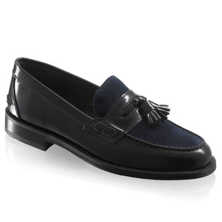tassel college loafers