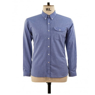 whitefell blue shirt