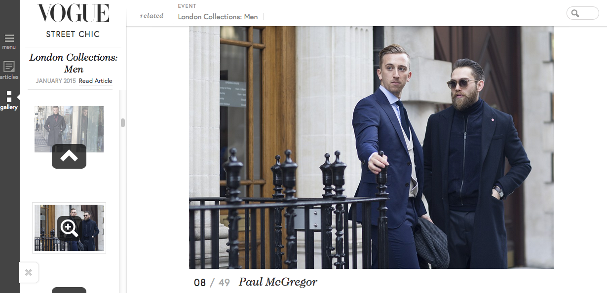Vogue LCM AW15 Feature