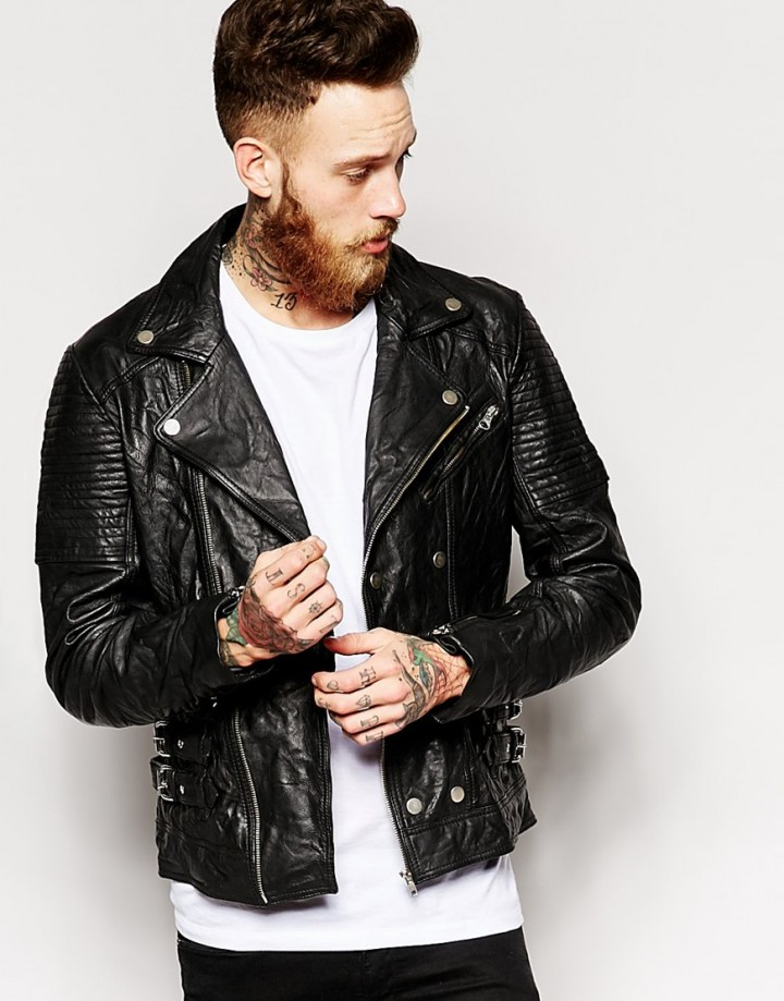How To Wear The Leather Jacket | Paul McGregor