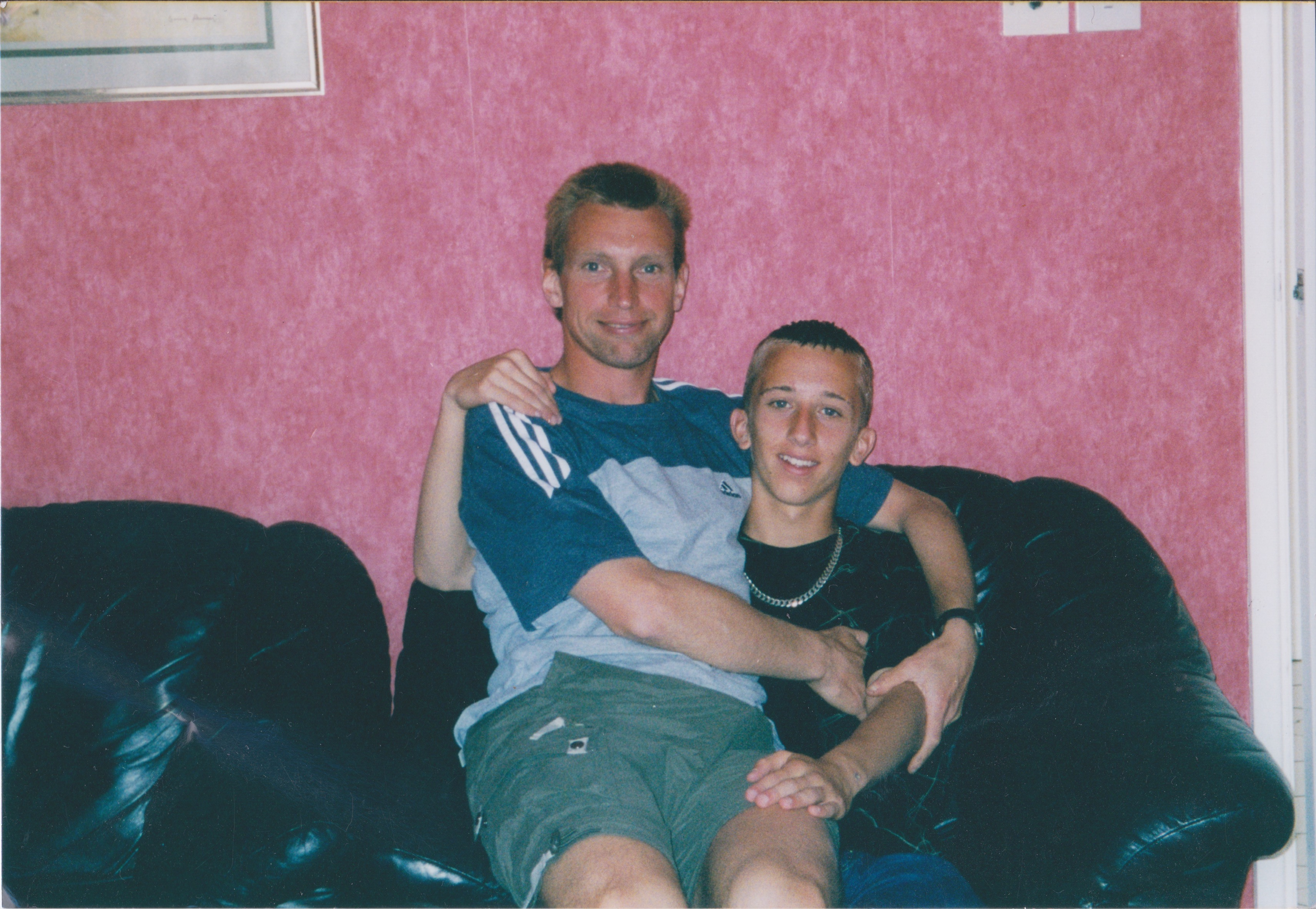 paul and his dad