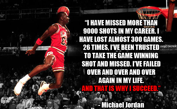 michael jordan fear quote