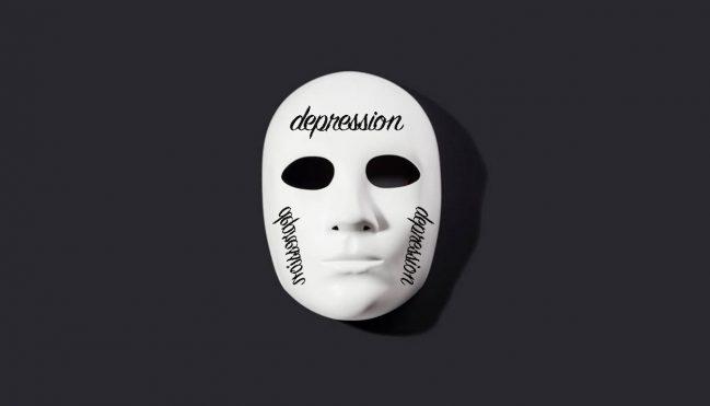 depression mask