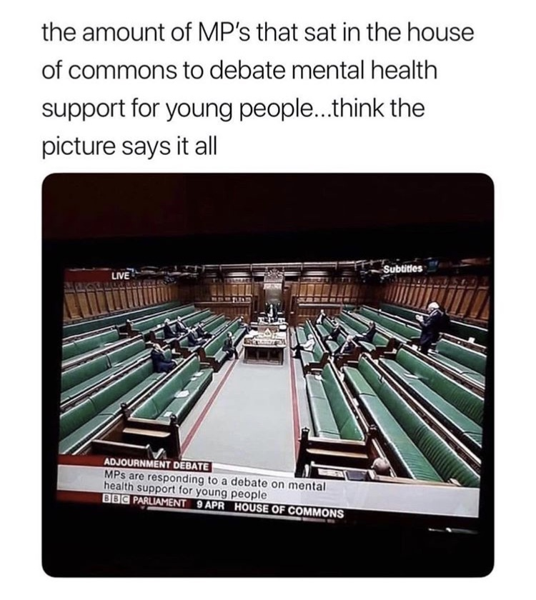 mental health MP's